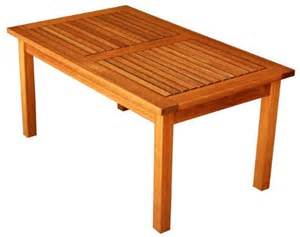 buy luunguyen outdoor hardwood coffee table natural With cheap outdoor coffee table