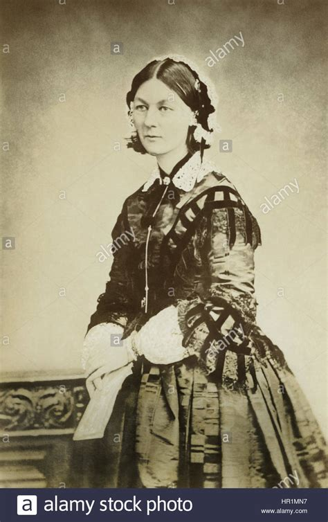 Florence Nightingale (18201910), The Founder Of Modern Nursing, In A Stock Photo, Royalty Free