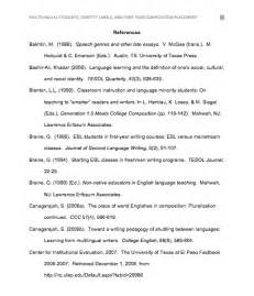 Apa Style Reference Page Format Website Examples Cover