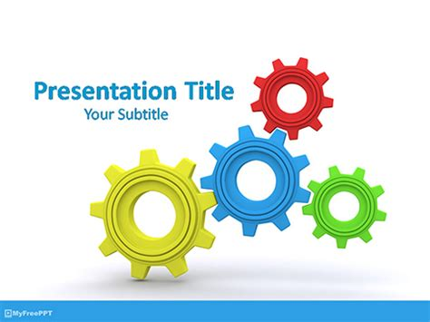 organization process powerpoint template