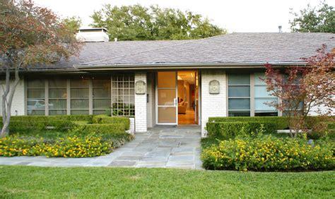 modern dallas ranch home contemporary exterior