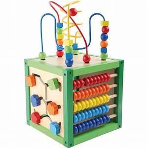 Cube En Bois Bébé : cube en bois educatif eveil motricite normes ce achat vente cube veil cdiscount ~ Melissatoandfro.com Idées de Décoration