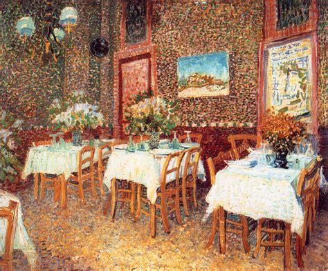 la cuisine de vincent interior of a restaurant 1887 vincent gogh