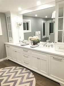 Elegant, White, Bathroom, Vanity, Ideas, 55, Most, Beautiful, Inspirations, 20, U2013, Goodsgn