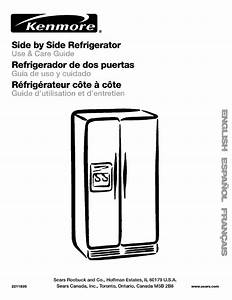 Sears Refrigerator Wiring Diagram