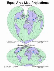 Geography Is        The Use Of Different Map Projections