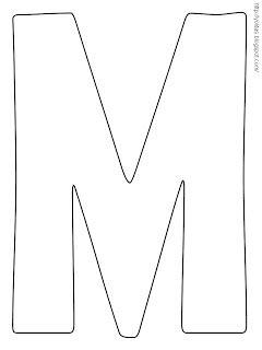 yolitas decoraciones letras para colorear y recortar abc