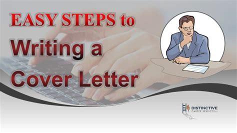 easy steps  writing  cover letter