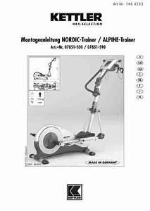 Kettler Nordic Trainer 07851