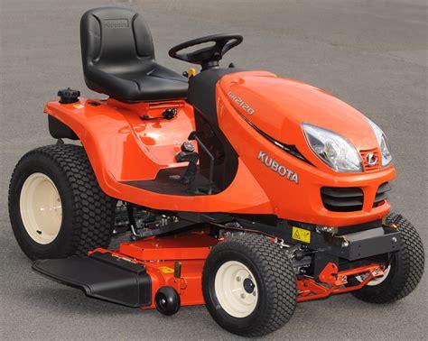 kubota garden tractor kubota 21hp diesel gr2120 lawn and garden tractor lawn