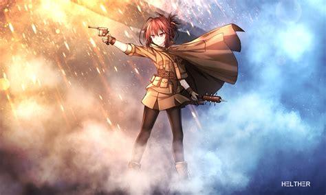 Anime Style Wallpaper - 1667x1000 battlefield 1 anime style gun