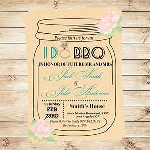 i do bbq invitation template mason jar invitation With i do bbq wedding invitations templates