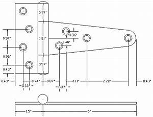 Classic Series Heavy Duty Stainless Steel Tee Hinge Details
