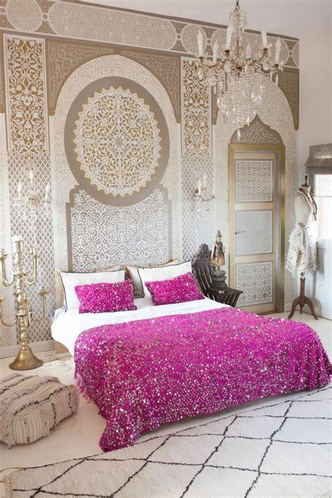 chambre style orientale décoration chambre orientale peinture