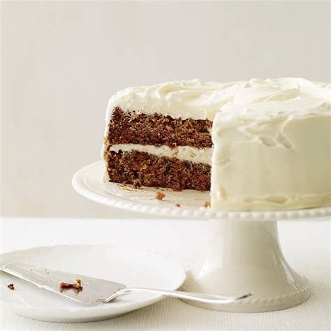 classic carrot cake  fluffy cream cheese frosting