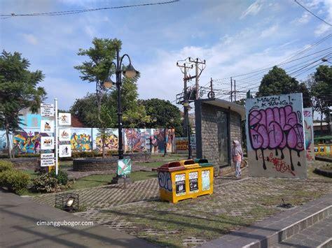 taman corat coret daerah bogor galeri seni jalanan gratis