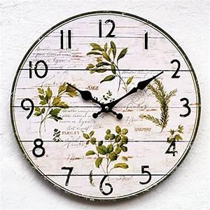 Retro Uhren Wand : landhausk chen wei ~ Whattoseeinmadrid.com Haus und Dekorationen