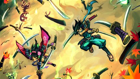 Blade And Soul Background Videojuegos Wallpaper Retro