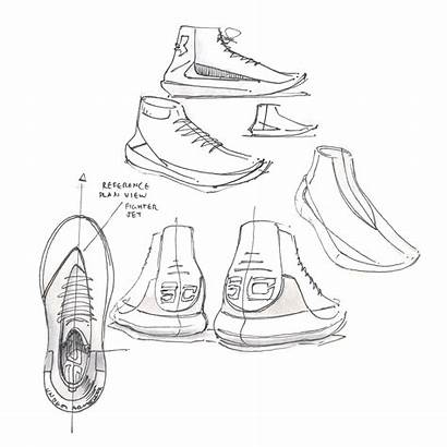 Curry Under Drawing Armour Shoes Sketch Shoe