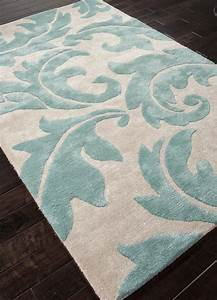 Jaipur blue aloha bl82 antique white light turquoise area for Turquoise area rug
