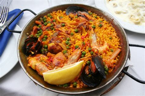 cuisine paella traditional food in madrid spain cuisine madrid cuisine and