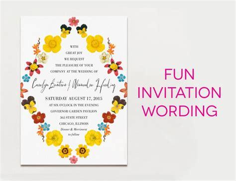 creative traditional wedding invitation wording