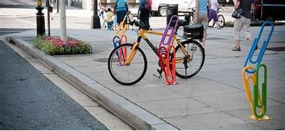 Bike Artistic Racks Triangle Cycling Golden Dc