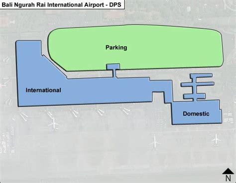 dps bali ngurah rai airport terminal maps