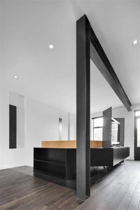 modernist house focuses  natural light interior design