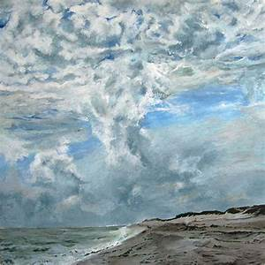 Mares Tails Weeds Sherrill Paintings Of Long Island Seascapes