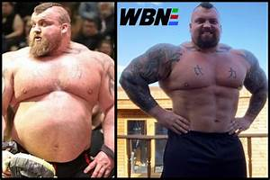 Boxing helps World's Strongest Man Eddie Hall DROP 6K OF ...