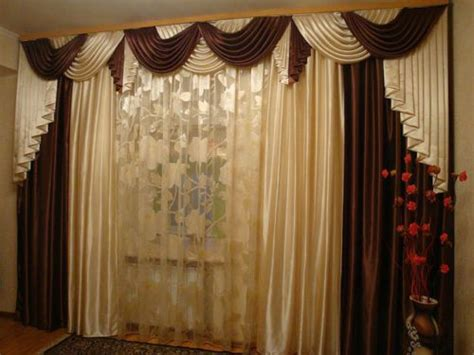 brand new handmade curtain panel waterfall valance