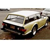 Triumph TR6 Shooting Brake  Cars Old New Unusual