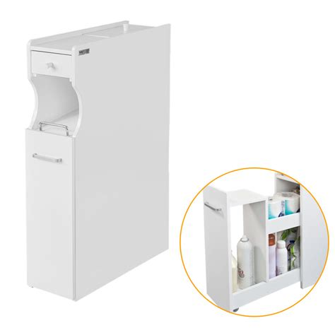 Product Of The Week Easy Load Toilet Paper Holder by Sobuy 174 Frg50 W White Bathroom Storage Cabinet Toilet