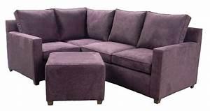 Apartment size leather sofa sectional sofa menzilperdenet for Sectional sofa in small apartment