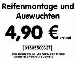 Reifen Montieren Und Wuchten Preis : reifen montieren und wuchten ab 5euro 261445 ~ A.2002-acura-tl-radio.info Haus und Dekorationen