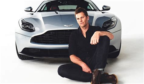tom brady  aston martin  teamed