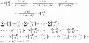 Summe Online Berechnen : binomische formeln summen berechnen mit hilfe des binomischen lehrsatzes mathelounge ~ Themetempest.com Abrechnung