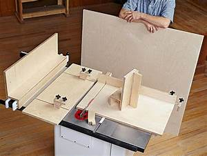 5 Essential Tablesaw Jigs Woodworking Plan from WOOD Magazine