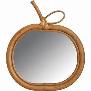 Miroir En Rotin : miroir en rotin pomme la vannerie d 39 aujourd 39 hui ~ Nature-et-papiers.com Idées de Décoration