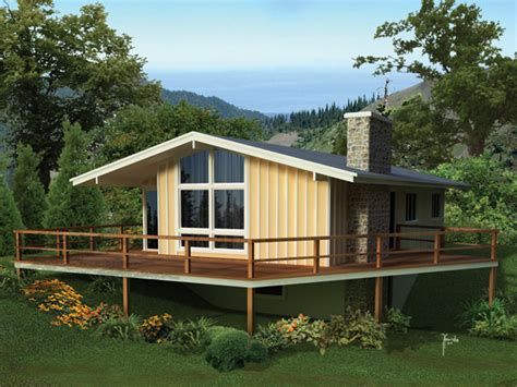 Valleyview Lake Vacation Home Plan 008d0158  House Plans