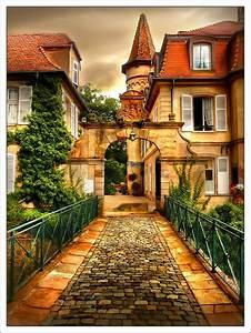Beautiful, Garden, House, Photos