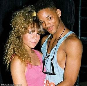 Mariah Carey embraces Will Smith in affectionate 1988 ...