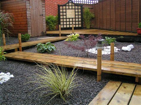 backyard landscapes inspired  japanese gardens