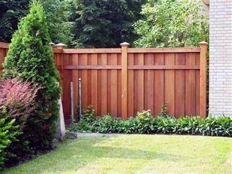 backyard wood fence ideas top 50 best privacy fence ideas shielded backyard designs