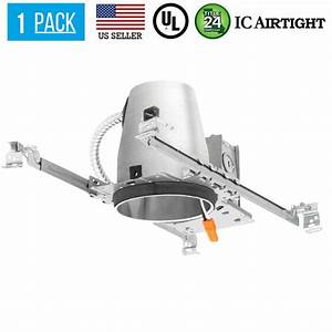 4 U0026quot  Inch New Construction Led Recessed Can Lighting