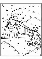 Ticket Template Drawing Polar Express Coloring Train Getdrawings sketch template