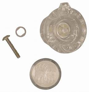 Moen 98037 Replacement Knob Handle Kit, For Use With Tub