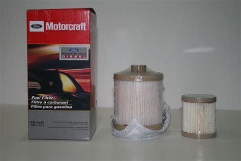 Ford F 250 6 0 Powerstroke Fuel Filter by Ford Motorcraft Diesel Fuel Filter 2003 2007 F250 F350