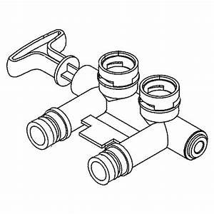 Ge Gxsh40v00 Water Softener Parts